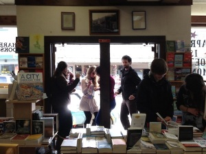 Tecnho Dance Party at Old Harbor Books (Photo by Melissa Danville)